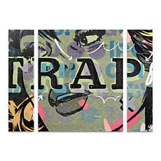 "Dan Monteavaro ""Trap"" Multi-Panel Art Set - 24"" x 32"""