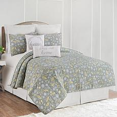 Dandelion Court Full/Queen Quilt Set
