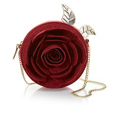 Danielle Nicole Beauty and the Beast Linen Rose Crossbody