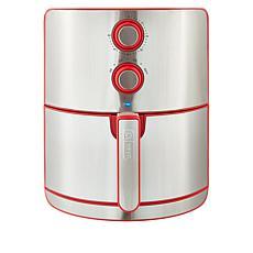 DASH Chef Series 5-Quart Nonstick Air Fryer with AirCrisp Technology