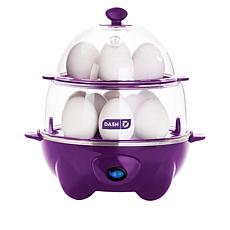 DASH Deluxe Egg Cooker with Bow-and-Go Pack