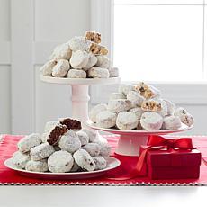 David's Cookies 3-pack 18 oz. Pecan Meltaways Receive by 11/12
