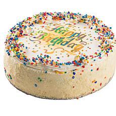 David's Cookies Happy Birthday 10-inch Vanilla Cake