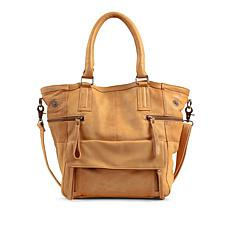 Day & Mood Genuine Leather Hannah Tote - Tan