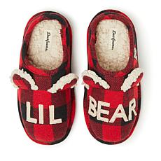 Dearfoams Kid's Lil Bear Clog Slipper