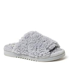 Dearfoams Women's Kristy Sherpa Slide Slippers
