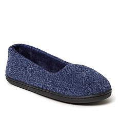 Dearfoams Women's Rebecca Chenille Closed-Back Slipper