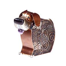 DecoBREEZE 2-Speed Doggie Figurine Fan