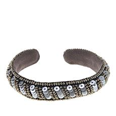 deepa by Deepa Gurnani® Bead and Sequin Cuff Bracelet