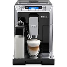 DeLonghi Black/Chrome Eletta Latte Crema Cappucino System