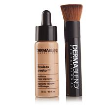 Dermablend Flawless Creator Foundation with Brush - Light 25N