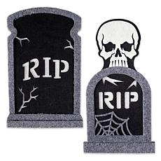 Design Imports 2-piece Foam Tombstone Set