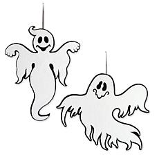 Design Imports 2-piece Hanging Foam Ghosts Set