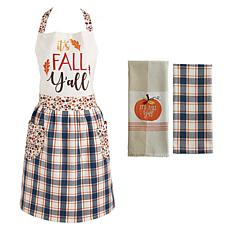 Design Imports 3-Piece It's Fall Y'All Baking Set