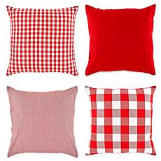 Design Imports Assorted Pillow Covers Set of 4