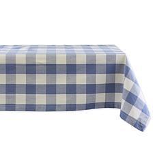 "Design Imports Buffalo Check Tablecloth - 60"" x 104"""