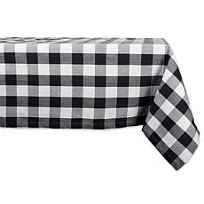 "Design Imports Buffalo Check Tablecloth - 60"" x 120"""