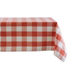 "Design Imports Buffalo Check Tablecloth - 60"" x 84"""