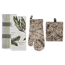 Design Imports Fesh Herbs Kitchen Set 4-pack