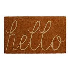 Design Imports Hello Doormat