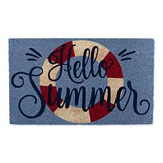 Design Imports Hello Summer Doormat