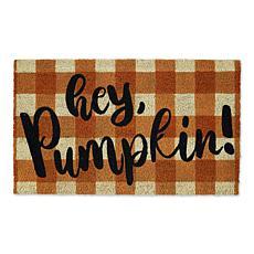 Design Imports Hey Pumpkin Doormat