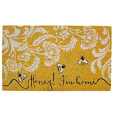 "Design Imports ""Honey I'm Home"" Doormat"
