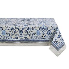"Design Imports Madiera Print Tablecloth 60"" x 84"""