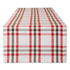 Design Imports Nutcracker Plaid Table Runner - 14 x 72""
