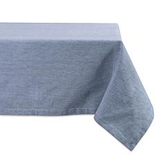 """Design Imports Solid Chambray 60"""" x 84"""" Tablecloth"""