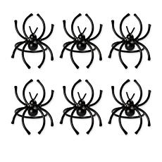 Design Imports Spider Napkin Rings Set of 6