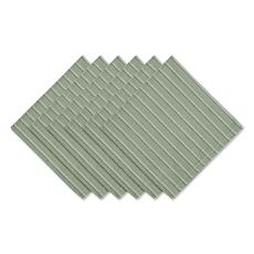Design Imports Sprig Dobby Stripe Napkins - Set of 6