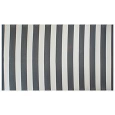 Design Imports Stripe Outdoor Rug 4' x 6'