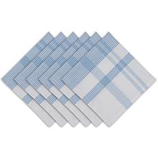 Design Imports Summer Day Plaid Napkins 6-pack