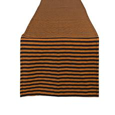 Design Imports Witchy Stripe Table Runner