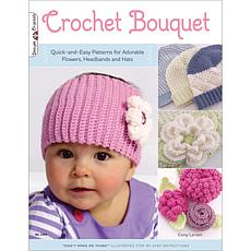Design Originals Crochet Bouquet For Baby Book