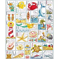 Design Works Counted Cross Stitch Kit - Ocean ABC
