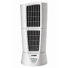 Desktop Wind Tower Fan - White