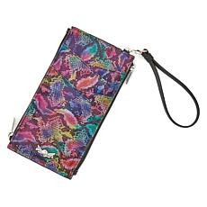 Destinations Kai Double-Zip RFID Passport Wristlet