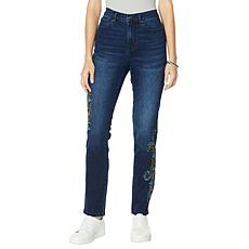 DG2 by Diane Gilman Classic Stretch Cross Stitch Skinny Jean