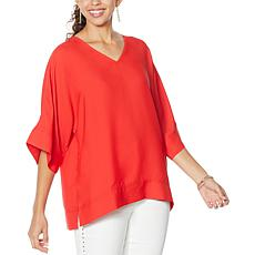 DG2 by Diane Gilman Dolman-Sleeve Top