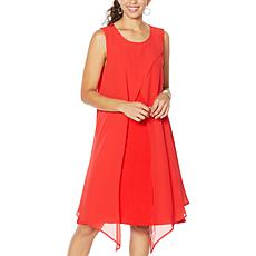DG2 by Diane Gilman Layered Drama Dress