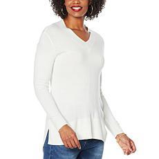 DG2 by Diane Gilman Lux Touch Boyfriend Sweater