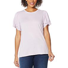 DG2 by Diane Gilman Puff-Sleeve Top