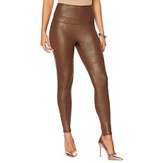 DG2 by Diane Gilman Slim and Sleek Coated Knit Legging