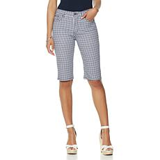 DG2 by Diane Gilman SuperStretch Lite Gingham Short