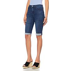 DG2 by Diane Gilman Virtual Stretch Cuffed Bermuda Short - Basic