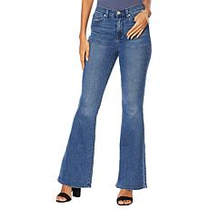 DG2 by Diane Gilman Virtual Stretch Flare Jean - Basic