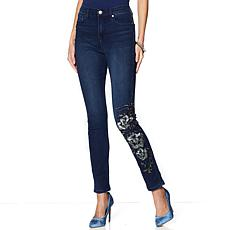 DG2 by Diane Gilman Virtual Stretch Novelty Skinny Jean - Basic