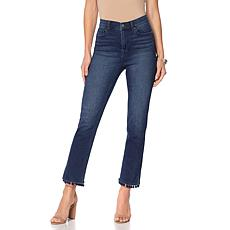DG2 by Diane Gilman Virtual Stretch Pom Pom Cropped Jean - Basic